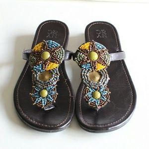 NY&Co Beaded Sandals